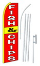 NEOPlex SW10184-4PL-SGS Fish & Chips Swooper Flag Kit