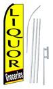 NEOPlex SW10225-4PL-SGS Liquor Groceries Swooper Flag Kit