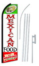 NEOPlex SW10228-SGS-4PL Mexican Food Swooper Flag Kit