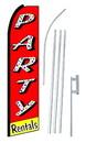 NEOPlex SW10231-4PL-SGS Party Rentals Swooper Flag Kit