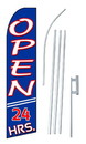 NEOPlex SW10246-SGS-4PL Open 24 Hours Swooper Flag Kit