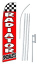 NEOPlex SW10279-4PL-SGS Radiator Specialists Swooper Flag Kit