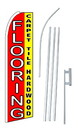 NEOPlex SW10301-4PL-SGS Flooring Carpet Tile Hardwood Swooper Flag Kit