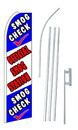 NEOPlex SW10333-SGS-4PL Smog Check Official Smog Station Swooper Flag Kit