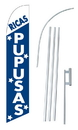 NEOPlex SW10379-SGS-4DL Ricas Pupusas Windless Swooper Flag Kit