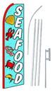 NEOPlex SW10412-4PL-SGS Seafood Swooper Flag Kit