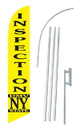 NEOPlex SW10491-SGS-4DL Ny State Dmv Inspection Windless Swooper Flag Kit