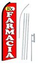 NEOPlex SW10552-4PL-SGS Rx Farmacia Red Swooper Flag Kit