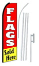 NEOPlex SW10559-4PL-SGS Flags Sold Here Swooper Kit