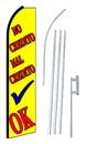NEOPlex SW10578-4PL-SGS No Credito Mal Credito Ok Yellow Swooper Flag Kit