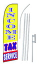 NEOPlex SW10707-4PL-SGS Income Tax Service Yellow Swooper Flag Kit