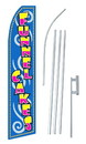 NEOPlex SW10739-SGS-4PL Funnel Cakes Blue Swooper Flag Kit