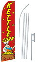NEOPlex SW10766-SGS-4PL Kettle Corn Swooper Flag Kit