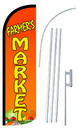 NEOPlex SW10805-4SPD-SGS Farmers Market Deluxe Windless Swooper Flag Kit