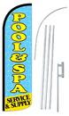 NEOPlex SW10833-4SPD-SGS Pool & Spa Deluxe Windless Swooper Flag Kit