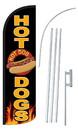 NEOPlex SW10857-4SPD-SGS Hot Dogs Deluxe Windless Swooper Flag Kit