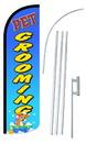 NEOPlex SW10871-4SPD-SGS Pet Grooming Deluxe Windless Swooper Flag Kit