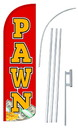 NEOPlex SW10878-4SPD-SGS Pawn Deluxe Windless Swooper Flag Kit