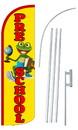 NEOPlex SW10897-4SPD-SGS Pre School Deluxe Windless Swooper Flag Kit