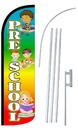 NEOPlex SW10901-4SPD-SGS Pre-School Rainbow Deluxe Windless Swooper Flag Kit