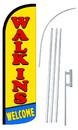 NEOPlex SW10908-4SPD-SGS Walk-Ins Welcome Deluxe Windless Swooper Flag Kit