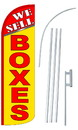 NEOPlex SW10913-4SPD-SGS We Sell Yellow Boxes Deluxe Windless Swooper Flag Kit