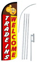 NEOPlex SW10930-4SPD-SGS Trade-Ins Welcome Deluxe Windless Swooper Flag Kit