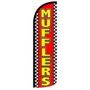 NEOPlex SW10941 Mufflers Red/Yellow Spd Swooper 38