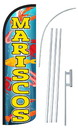 NEOPlex SW10970-4SPD-SGS Mariscos(Seafood) Deluxe Windless Swooper Flag Kit
