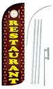 NEOPlex SW10971-4SPD-SGS Restaurant Deluxe Windless Swooper Flag Kit