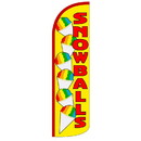 NEOPlex SW10975 Snowballs Yellow/ Red Spd Swooper 38