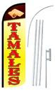 NEOPlex SW10984-4SPD-SGS Tamales Deluxe Windless Swooper Flag Kit
