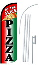 NEOPlex SW10991-4SPD-SGS Pizza By The Slice Deluxe Windless Swooper Flag Kit
