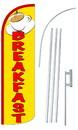 NEOPlex SW10994-4SPD-SGS Breakfast Yellow Deluxe Windless Swooper Flag