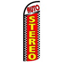NEOPlex SW11004 Auto Stereo Red/Yellow Spd Swooper 38