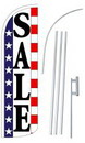 NEOPlex SW11021-4SPD-SGS Sale Usa Deluxe Windless Swooper Flag Kit