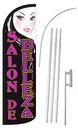 NEOPlex SW11045-4SPD-SGS Salon De Belleza Deluxe Windless Swooper Flag Kit