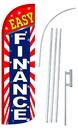 NEOPlex SW11048-4SPD-SGS Easy Finance Deluxe Windless Swooper Flag Bundle