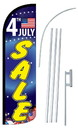 NEOPlex SW11052-4SPD-SGS 4Th July Sale Deluxe Windless Swooper Flag Kit