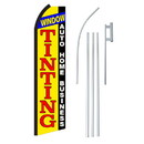 NEOPlex SW11124-4PL-SGS Window Tinting Swooper Flag Bundle