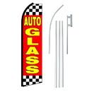 NEOPlex SW11128-4PL-SGS Auto Glass Swooper Flag Bundle