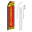 NEOPlex SW11145-4PL-SGS Inspection Station Swooper Flag Bundle