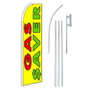 NEOPlex SW11163-4PL-SGS Gas Saver Yellow Swooper Flag Bundle