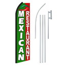 NEOPlex SW11186-4PL-SGS Mexican Restaurant Swooper Flag Bundle