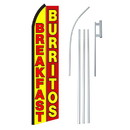 NEOPlex SW11199-4PL-SGS Breakfast Burritos Swooper Flag Kit