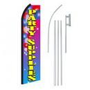 NEOPlex SW11300-4PL-SGS Party Supplies Swooper Flag Bundle