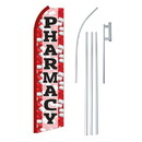 NEOPlex SW11301-4PL-SGS Pharmacy Swooper Flag Bundle