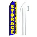 NEOPlex SW11342-4PL-SGS Storage First Month Swooper Flag Bundle