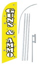 NEOPlex SW80082-4DLX-SGS Guns & Ammo Yellow Windless Swooper Flag Kit