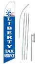 NEOPlex SWFN-1606A-SGS-4PL Liberty Tax Service Swooper Kit